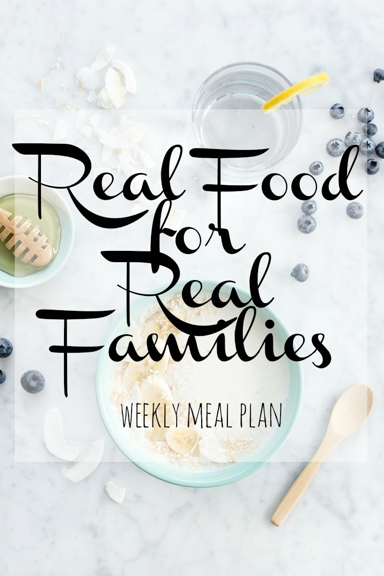 Weekly Meal Plan 2018 Week 17