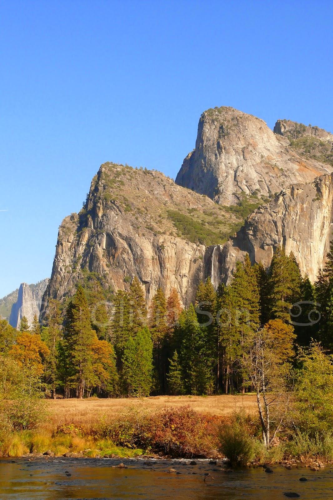 bridal veil falls, Yosemite National Park, California, USA