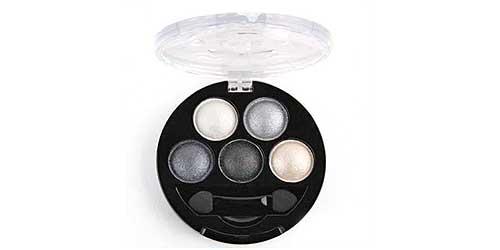 paleta de cinco sombras de ojos sammydress