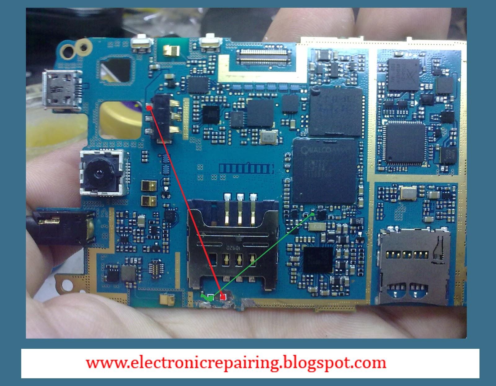 Samsung galaxy s5570 power switch ways  Electronic Repairing