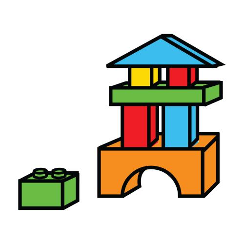 Formas y colores a ordenar el sonido de la hierba al - Construcciones de lego para ninos ...