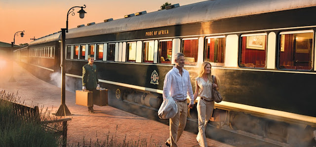Bahnreise mit Rovos Rail durch Afrika