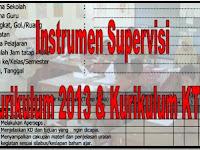 Instrumen Supervisi Kurikulum 2013 Dan Kurikulum KTSP