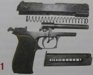 """Неполная разборка пистолета ОЦ-27 """"Бердыш"""""""