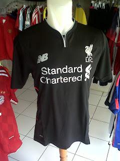 Jual Jersey Liverpool Away 2016/2017 di toko jersey jogja sumacomp, murah berkualitas