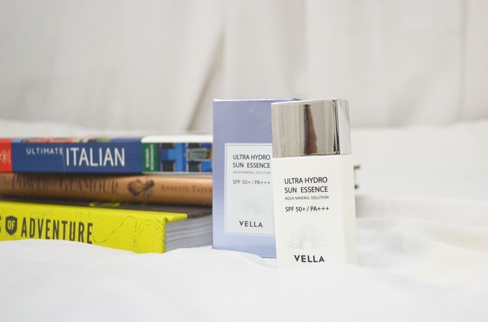 Vella Ultra Hydro Sun Essence Review