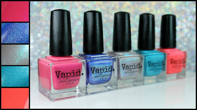 Vapid Nail Lacquer | Summer Shenanigans 2017