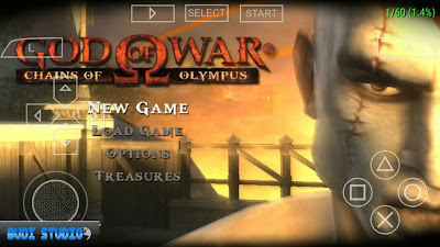 God Of War: Chains Of Olympus PPSSPP High Compress