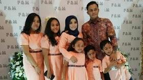 Muzdalifah dan Fadel Islami Kompak Beri Kejutan Ulang Tahun yang ke 9 untuk Syafika Wardah