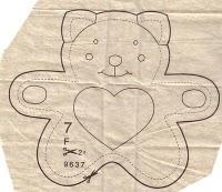 f pattern - Molde brinquedo para bebê