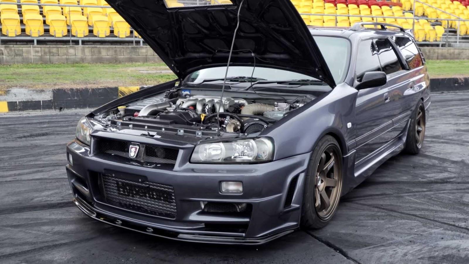 Nissan Clube: Custom Nissan Stagea V8 Wagon