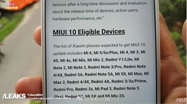 MIUI10: MIUI 10 first look