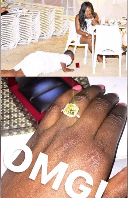 Yoruba man prostrates to propose to his girlfriend
