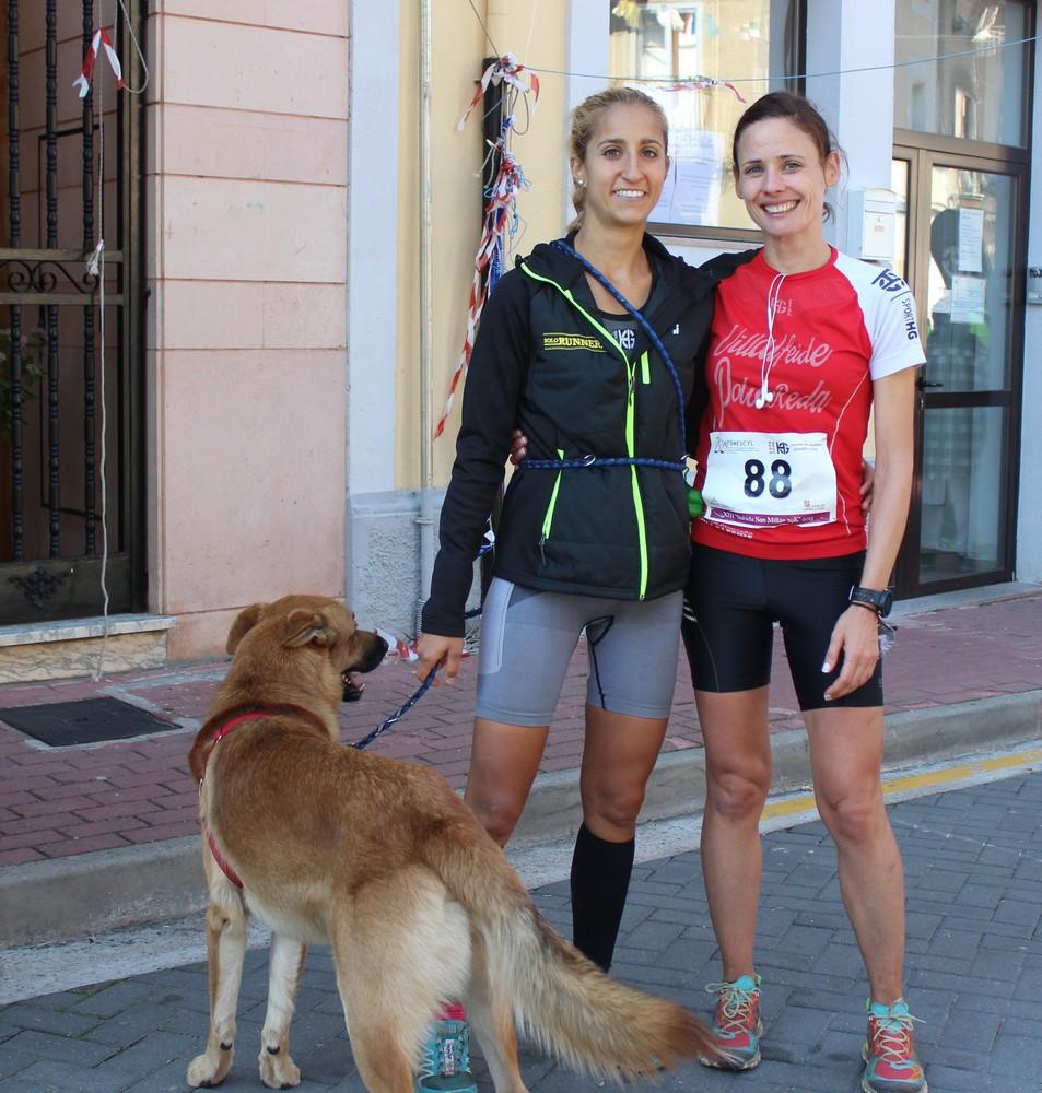 Patricia Muñoz y Victoria Santamaría. /TRAILCYL