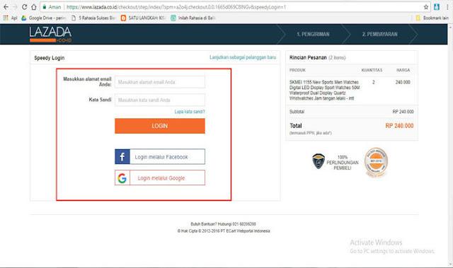 Cara Mudah Belanja Online Di Lazada Menggunakan Pembayaran