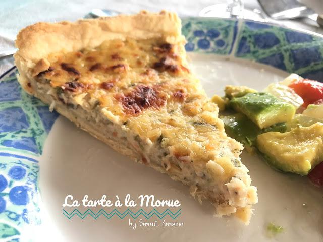 sweet kwisine, tarte, morue, codfish, cuisine antillaise, martinique, guadeloupe, béchamel, piment, caribbean food