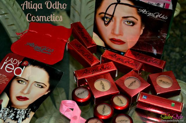 Atiqa Odho New Cosmetics Range