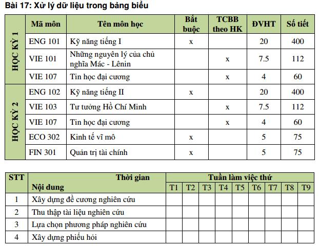 Làm bài tập tạo bảng trong Word chi tiết nhất (#1)