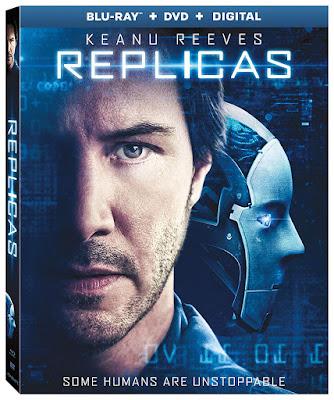 Replicas 2018 Blu Ray