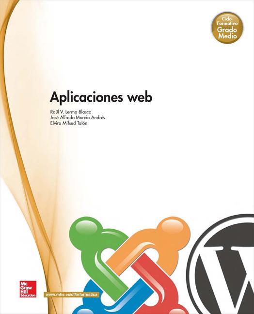Aplicaciones web: Grado Medio – 2013