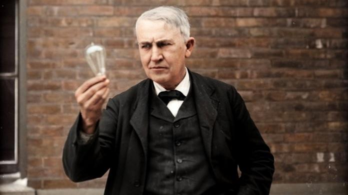 Quando Thomas Edison inventò la lampadina