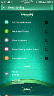 BBM Mod BlueGreen Toska Angelic - Base Official 3.0.0.18
