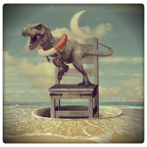 11-Lifeguard-Akşam-Gunesi-Surreal-Photo-Manipulation-to-suit-your-Mood