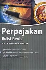 www.ajibayustore.blogspot.com  Judul : PERPAJAKAN EDISI REVISI Pengarang : Prof. Dr. Mardiasmo, MBA., Ak. Penerbit : Andi