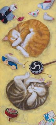 minako-ota-jucarii-pentru-pisici