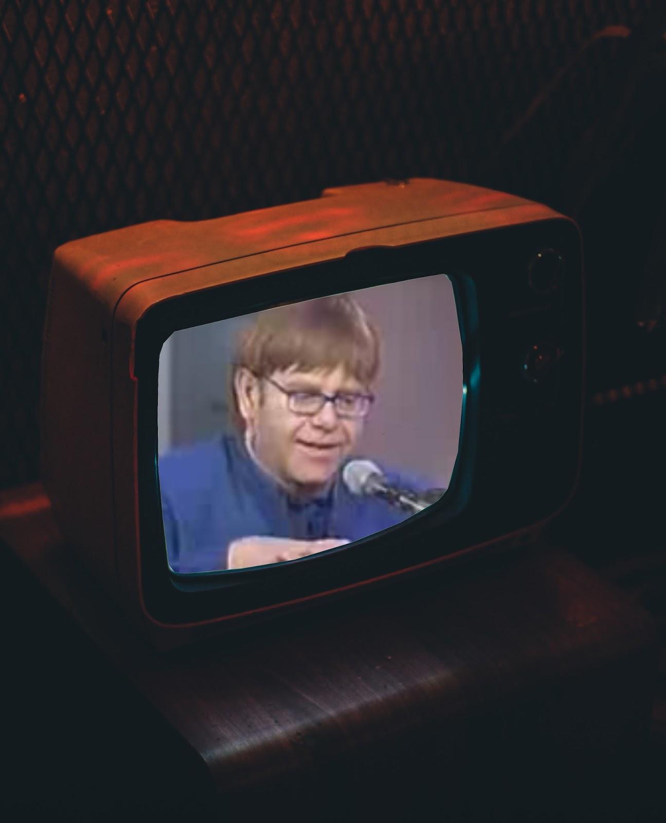 Elton John der absolute Klavierimprovisator | Der Ofensong, eine Stilblüte der Musikgeschichte 1997