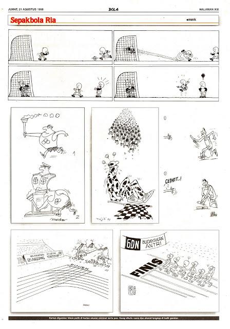 Sepakbola Ria EDISI NO. 827 / JUM'AT, 21 AGUSTUS 1998