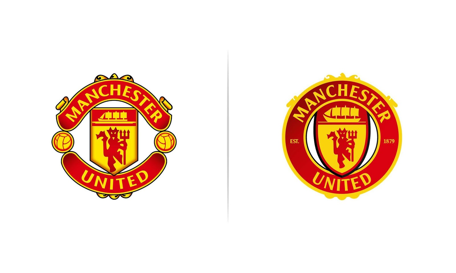 Streamlined Manchester United Logos By Socceredesign Footy Headlines