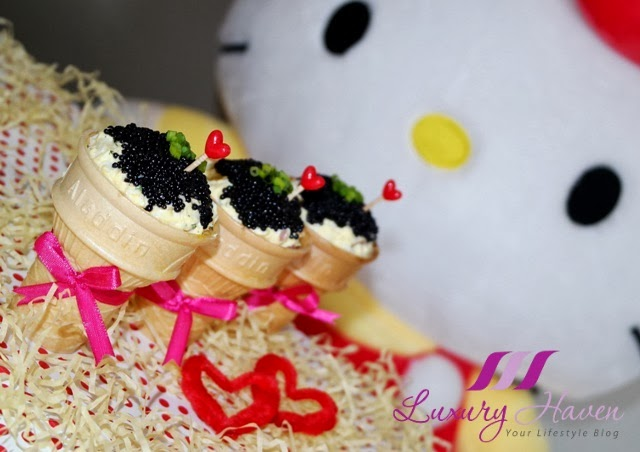 hello kitty valentines day ice-cream kids recipe