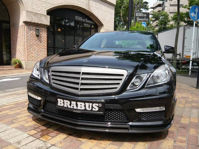 BRABUS EB63S based on Mercedes E63 AMG W212  BENZTUNING