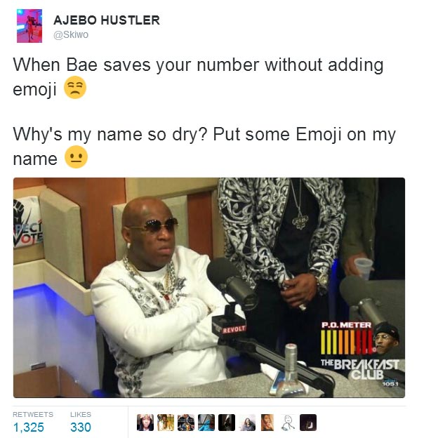 Some more hilarious tweets from Ajebpo Hustler