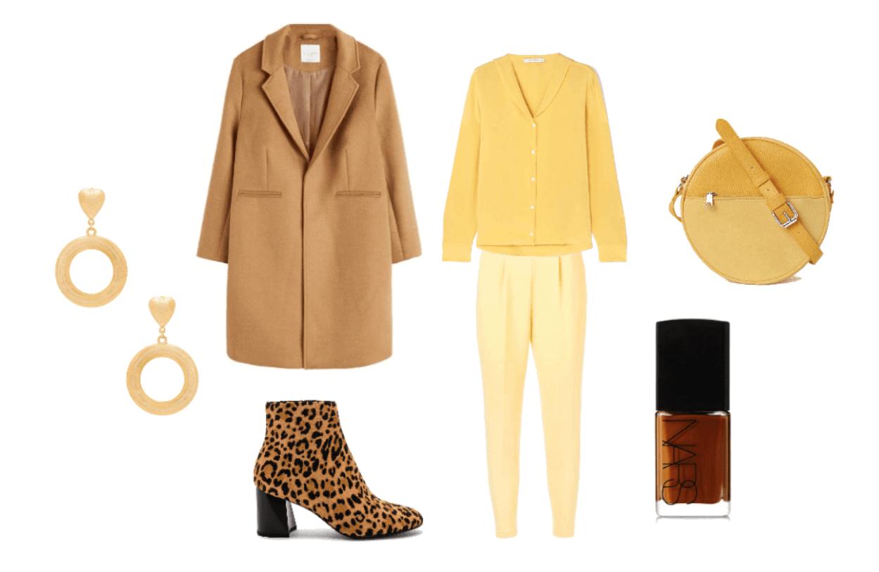 Beige total look stylizacja na wiosnę, blog modowy, beige total look