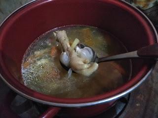 #DapurMamaIntan : Resep Kaldu Ceker Ayam Homemade