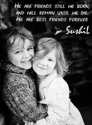 Best Quotes And Sayings Best Friend Forever