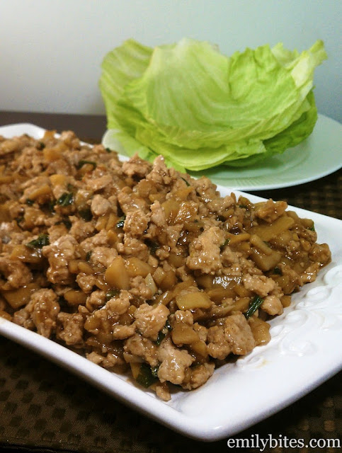 Asian Chicken Lettuce Wraps | Weight Watchers Chicken Recipe