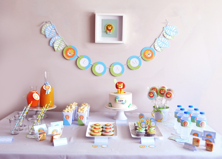 sweet table anniversaire 1 an
