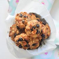 Cookies saudáveis de banana
