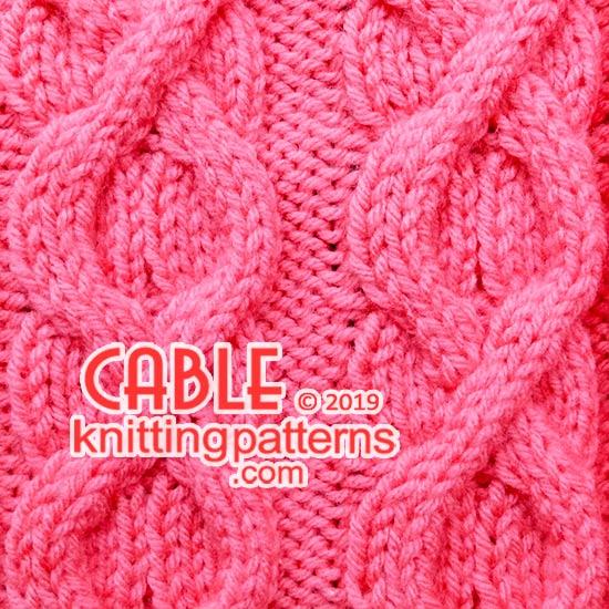 Knitting Stitch Pattern. Free knit pattern.