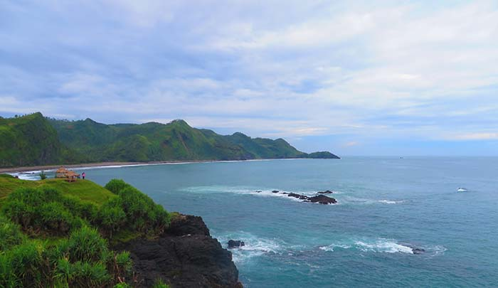 PANTAI MENGANTI; NEW ZEALAND NYA INDONESIA