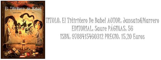 Foto Reseña Doble: El Titiritero De Babel y Desatasca Tu Ingles