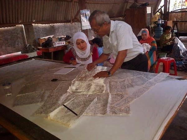 belajar batik cap_printing