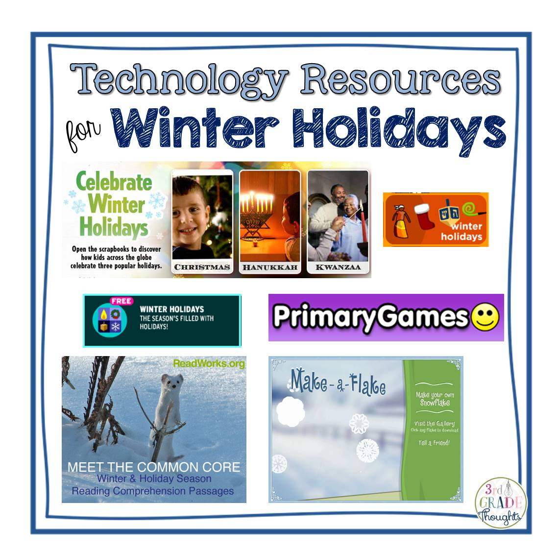 Technology Resources For Winter Holidays