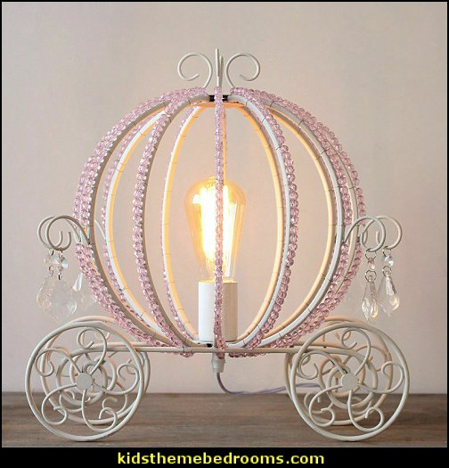 cinderella coach Table Lamp  princess bedroom ideas - Princess room decor‎ - Princess style bedrooms - castle theme beds - Princess bedroom furniture - Princess themed bedrooms - fairy princess theme bedroom ideas - Princess bed - Disney Princess room ideas -   Cinderella Carriage Bed - Cinderella bedroom ideas - Pumpkin Bed - crown pillows - princess theme baby nursery decorating ideas - cinderella coach Table Lamp