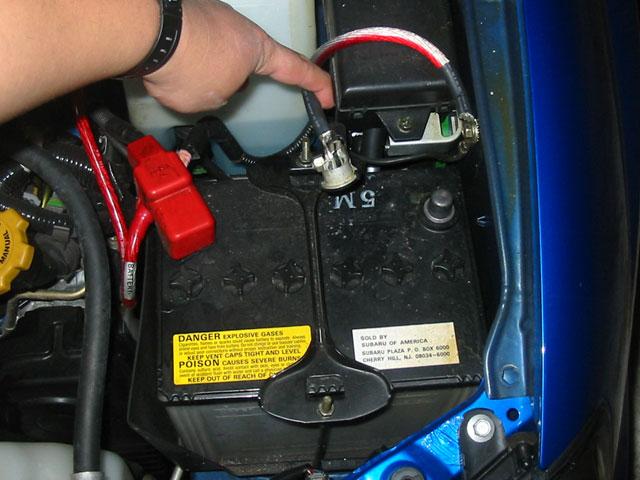 Comment déconnecter une batterie de voiture