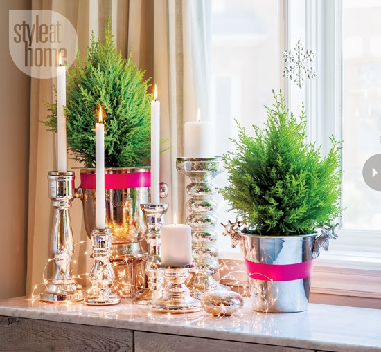 Mix And Chic: Home Tour- A Designer's Beautiful Holiday