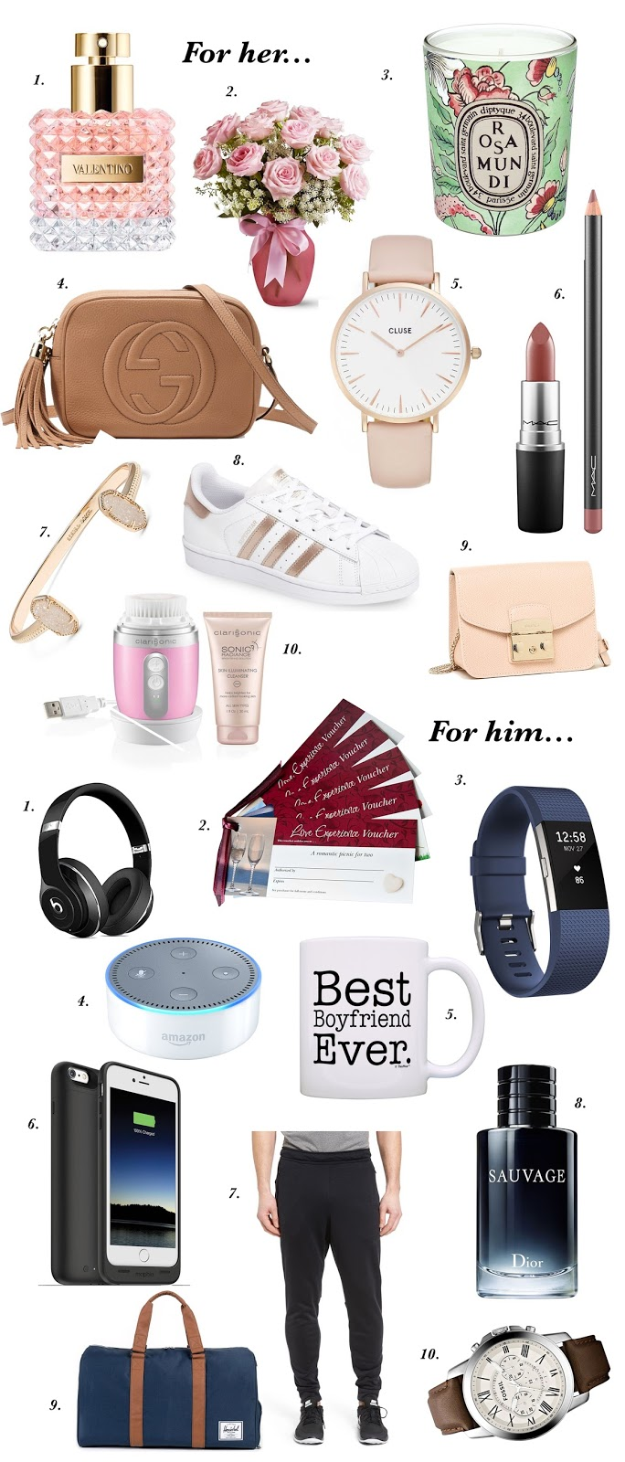 20 Valentine's Day Gift Ideas for him & her - Hapa Time
